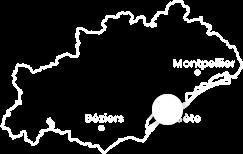 Carte localisation sète