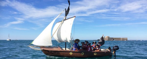 Balade en petit voilier avec les enfants au Cap d'Agde