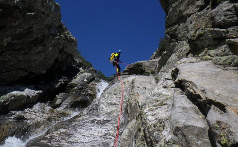 Canyoning en Haut-Languedoc