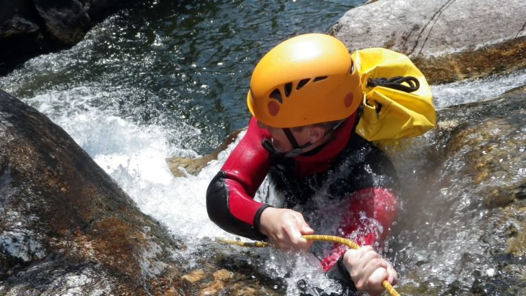 Canyoning dans l'Hérault
