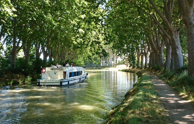 Le canal du midi vers Colombiers