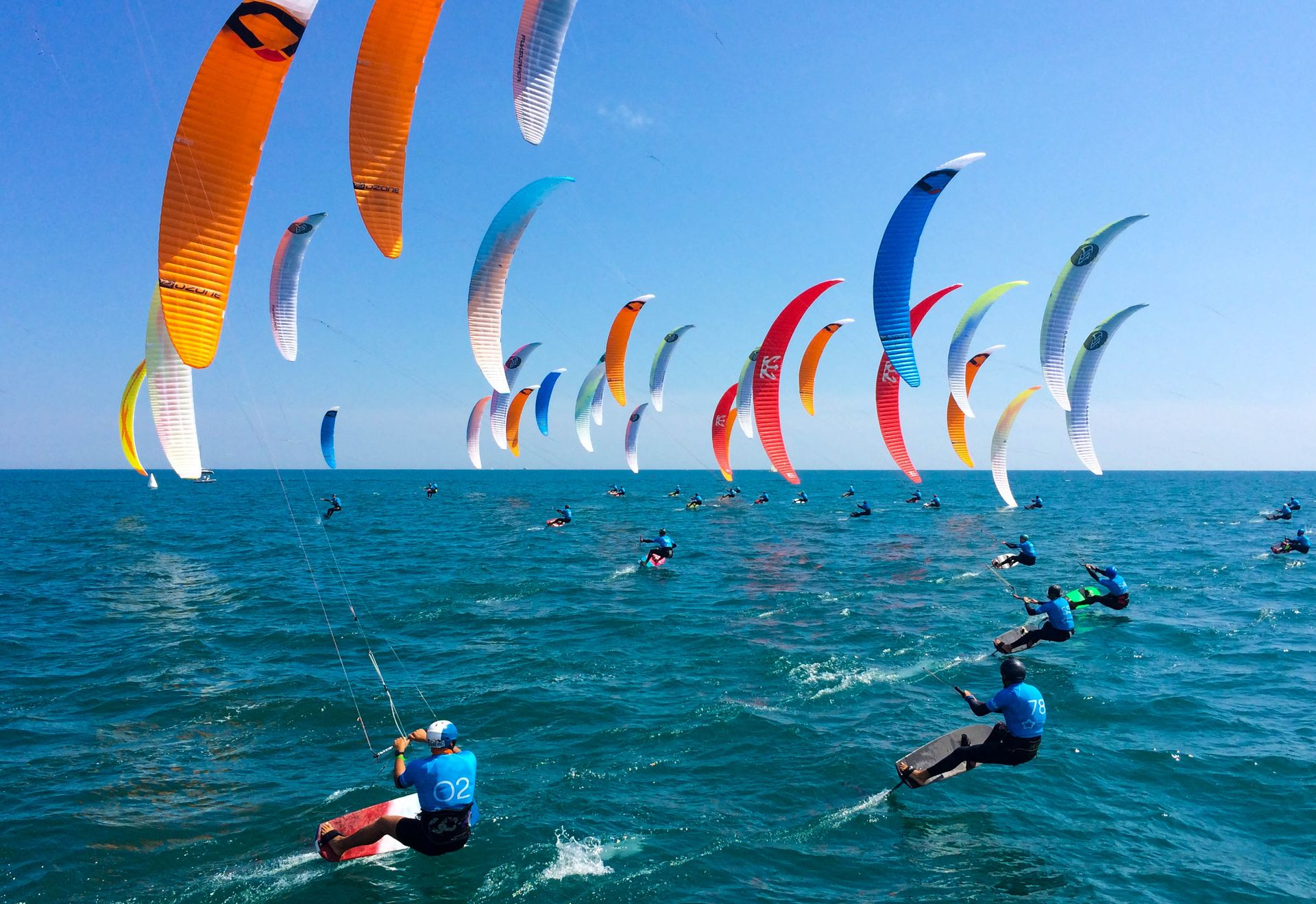 Kitesurf à Maguelone