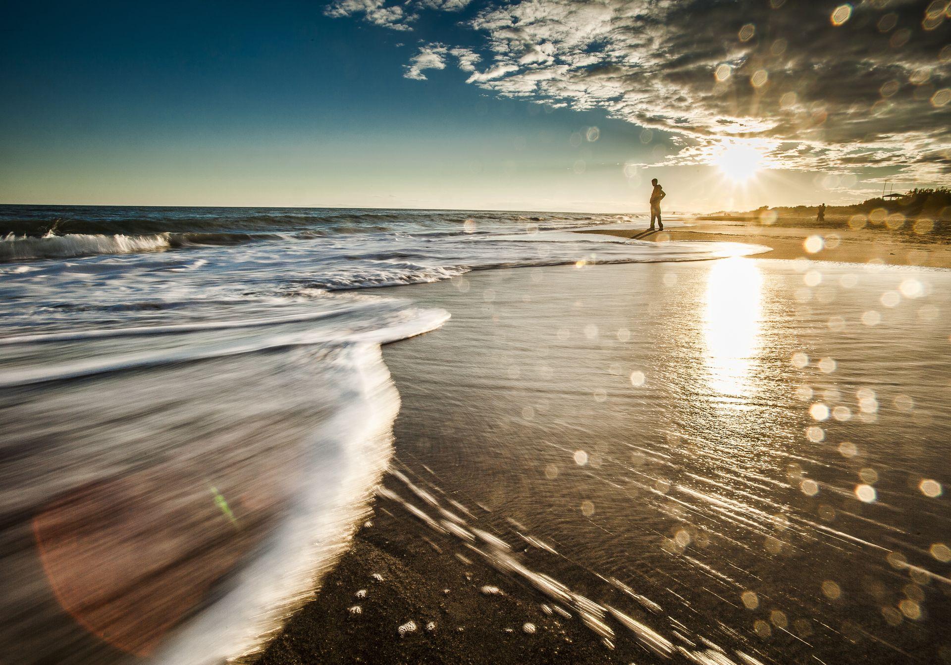 La plage de Sérignan