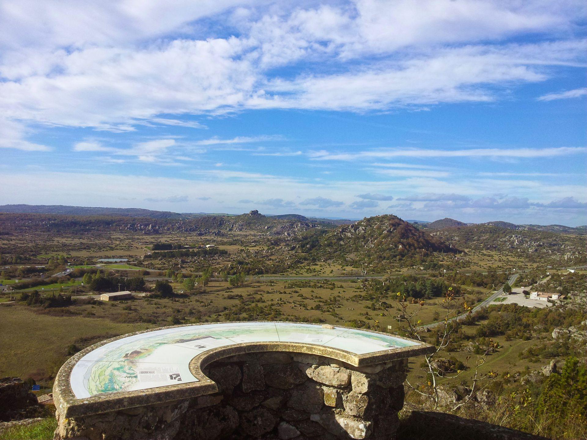 Point de vue sur le Larzac