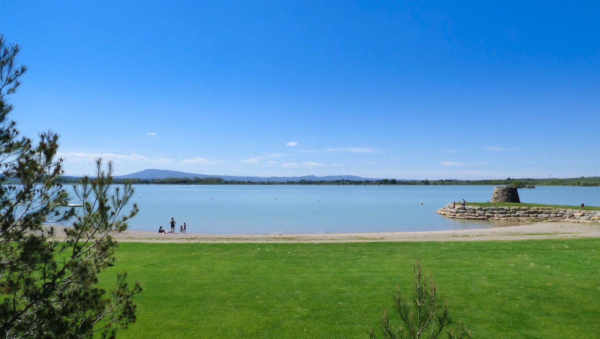 Lac de Jouares en Minervois