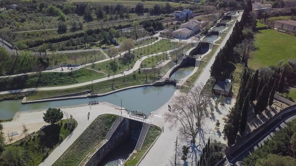 Les écluses de Fonséranes à Béziers