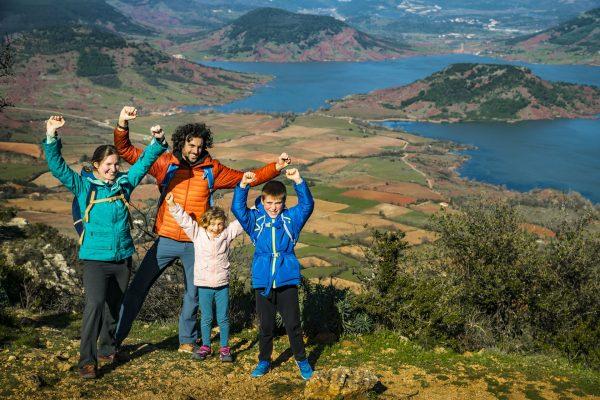 Au Mont Liausson en famille