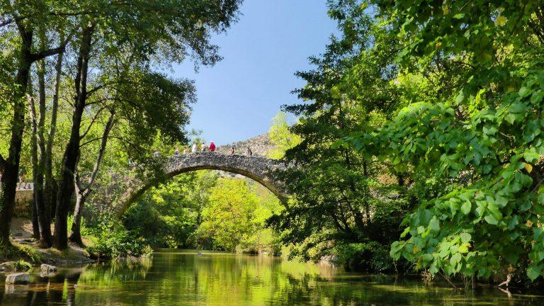 Pont sur la Vis à Navacelles