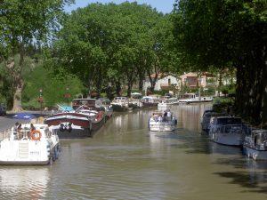 Le canal du midi à Capestang