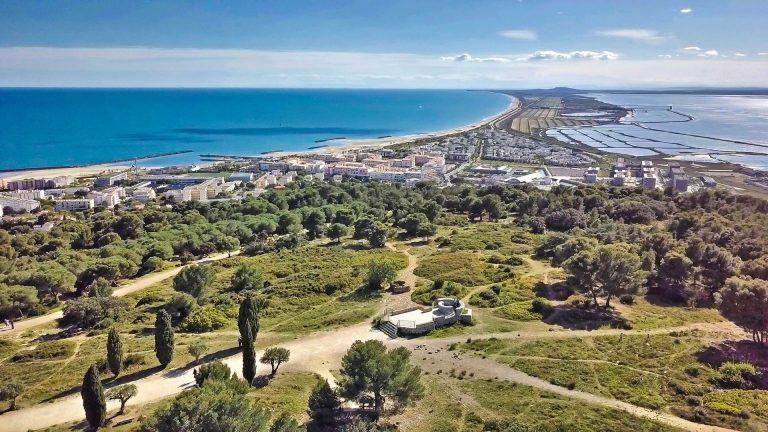 Panorama depuis les Pierres Blanches à Sète