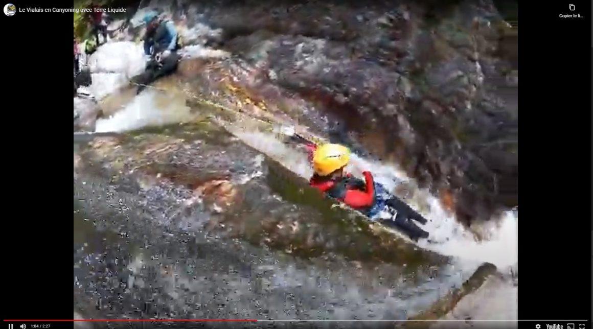 capture video canyon du vialais