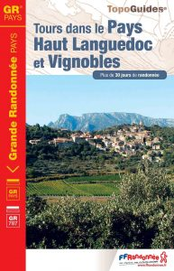 couverture topo GRP® Tours dans le Payus Haut-Languedoc et Vignobles
