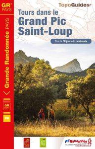couverture topo GRP® Tours dans le Grand Pic Saint-Loup