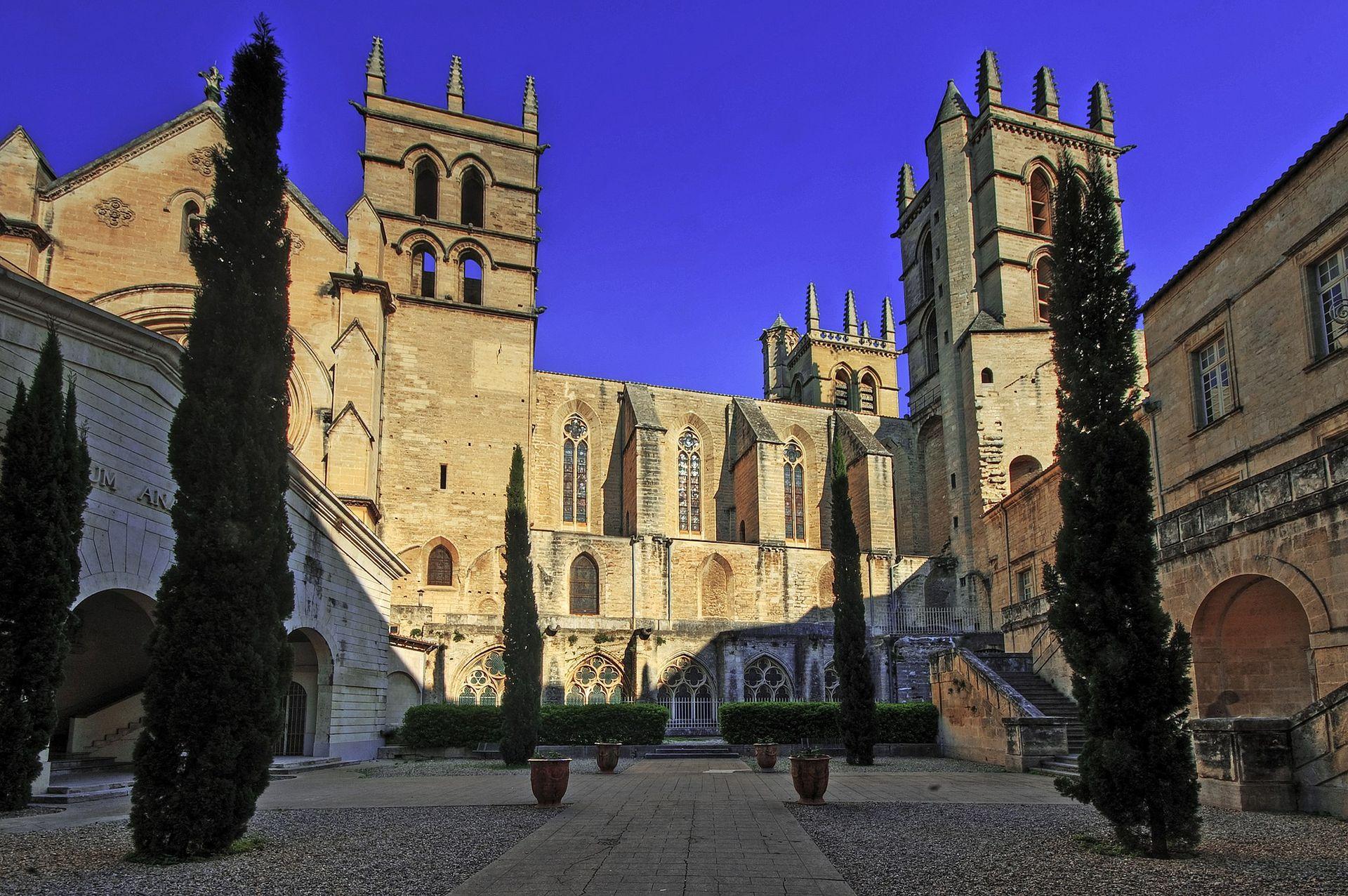 la cathédrale St Pierre à Montpellier