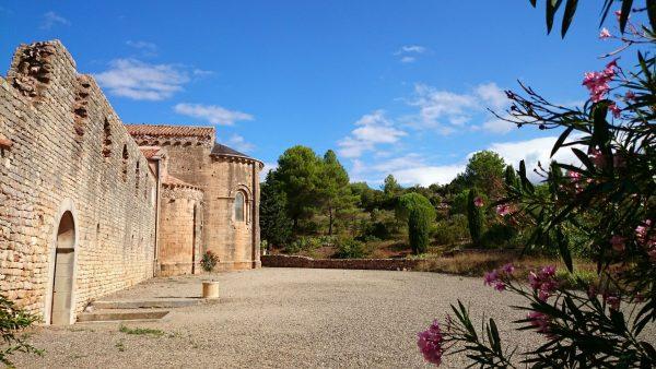 Dans l'abbaye de Fontcaude