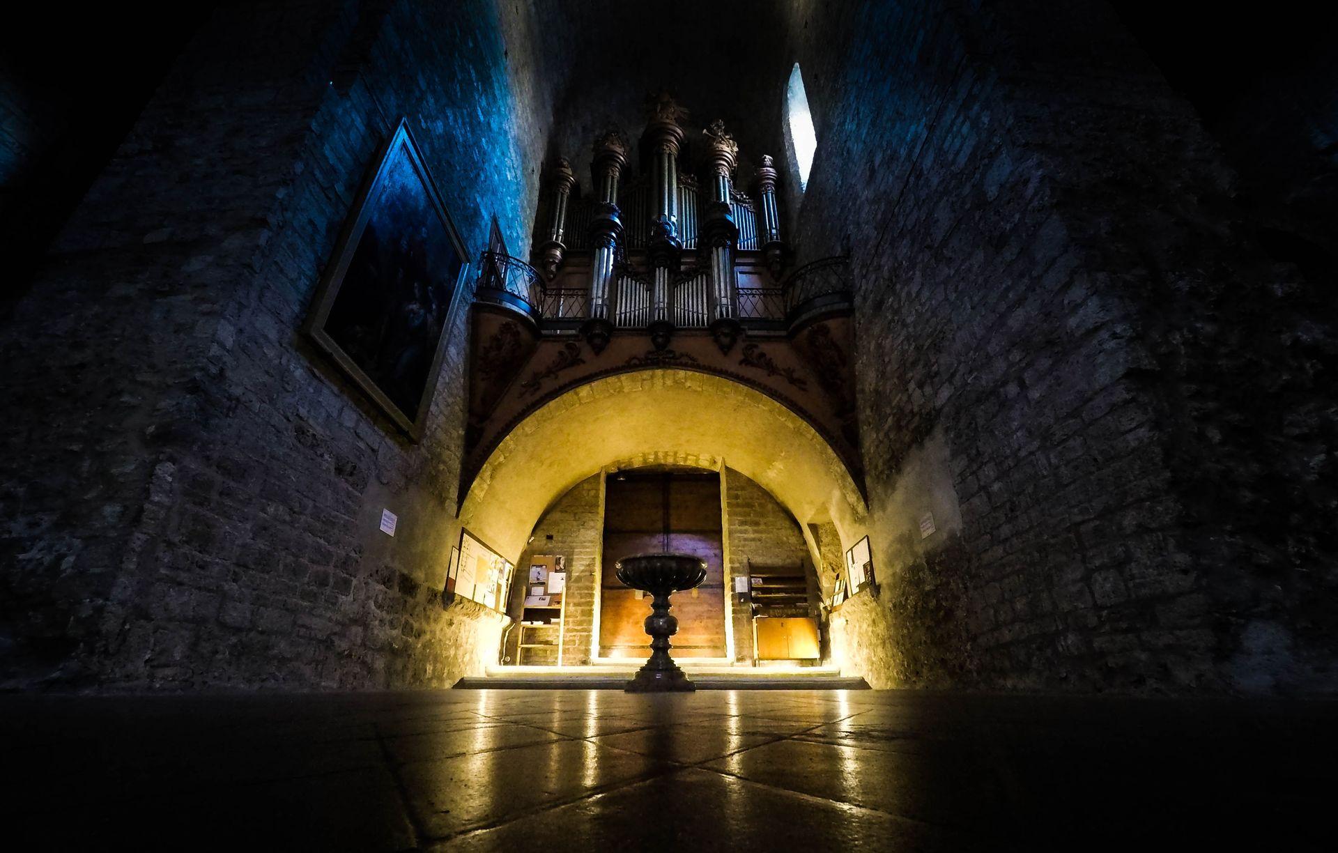 Dans l'abbaye de Gellone