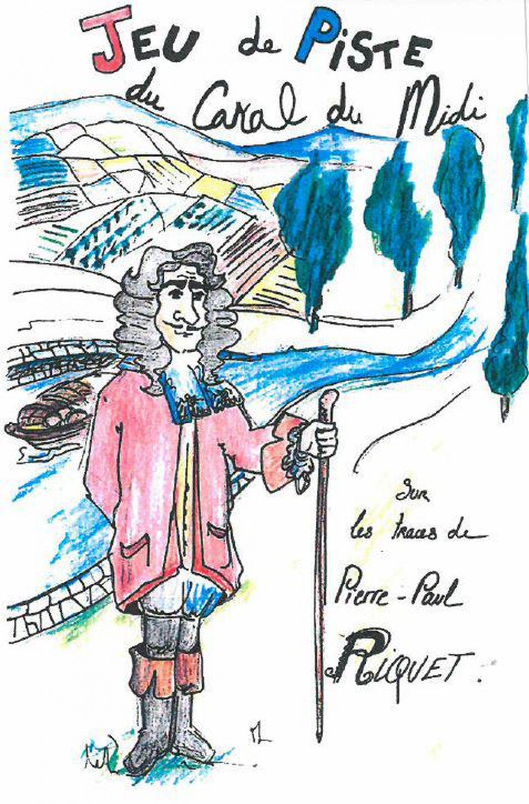 Livret du jeu de piste en famille sur les traces de Pierre-Paul Riquet à Capestang au bord du Canal du Midi