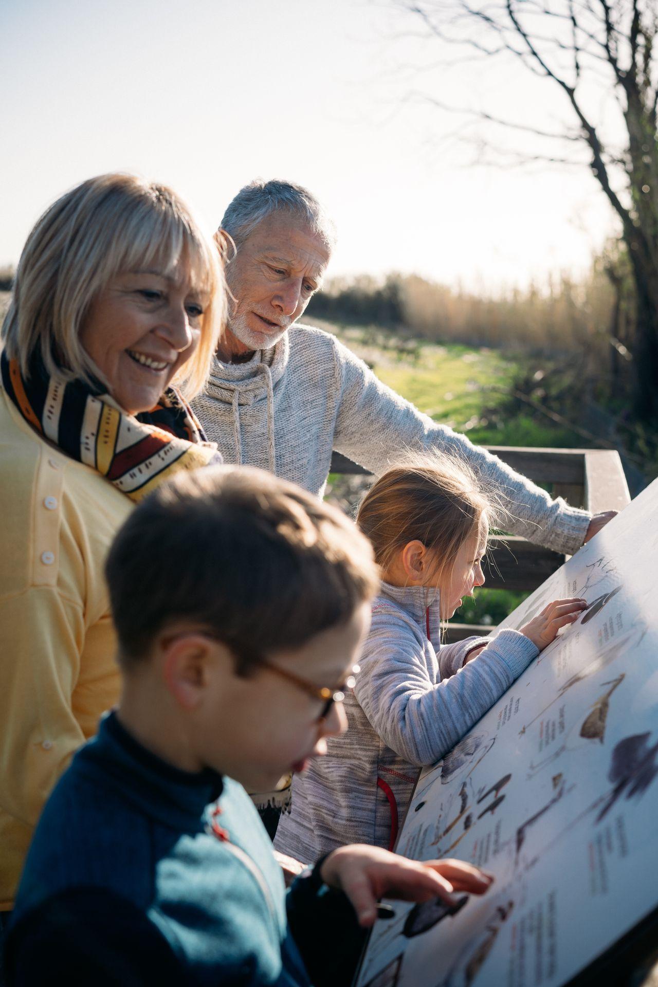 Sentier d'interprétation Maguelone en famille