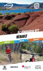 couverture du topo VTT VTOPO Hérault