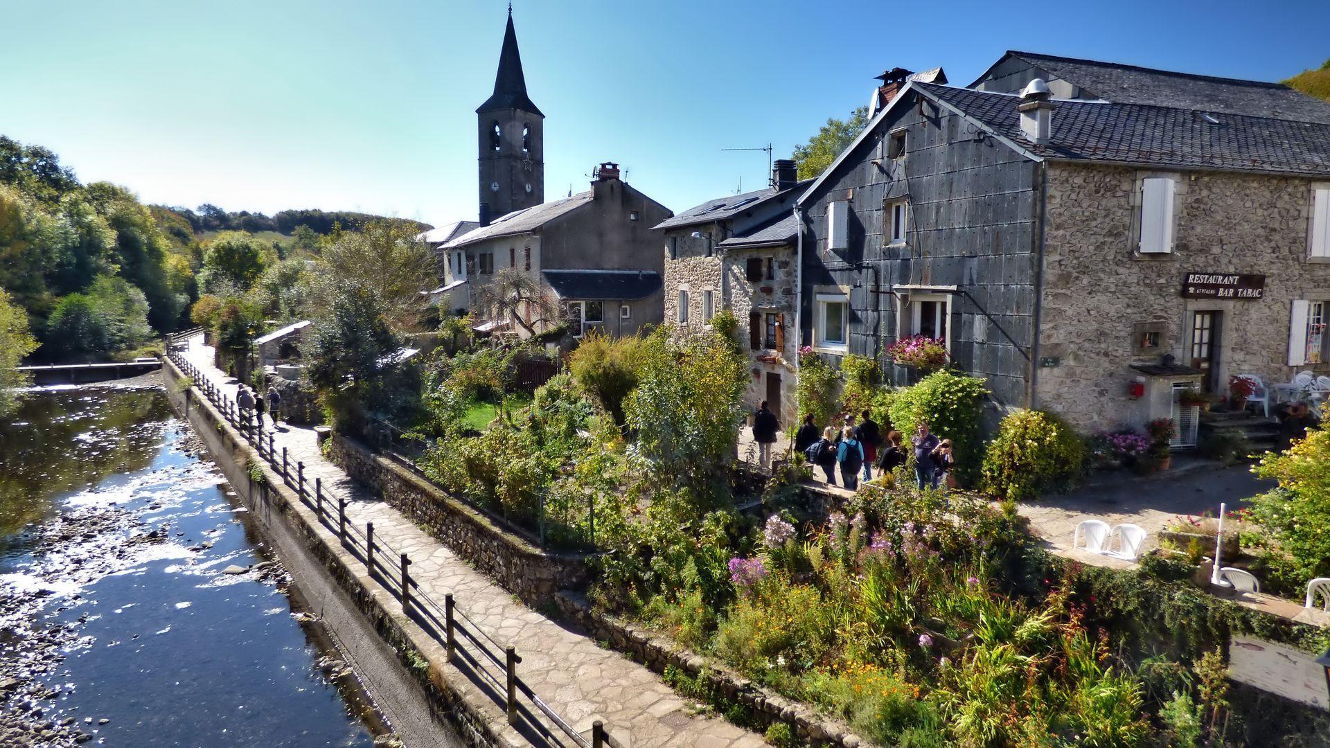 Village de Fraisse-sur-Agout