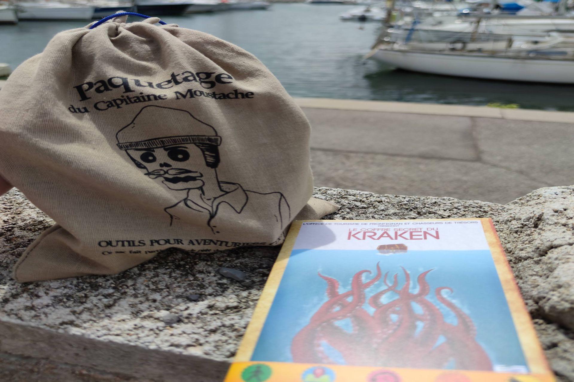 Jeu de piste à Frontignan en famille - Le coffre secret du Kraken
