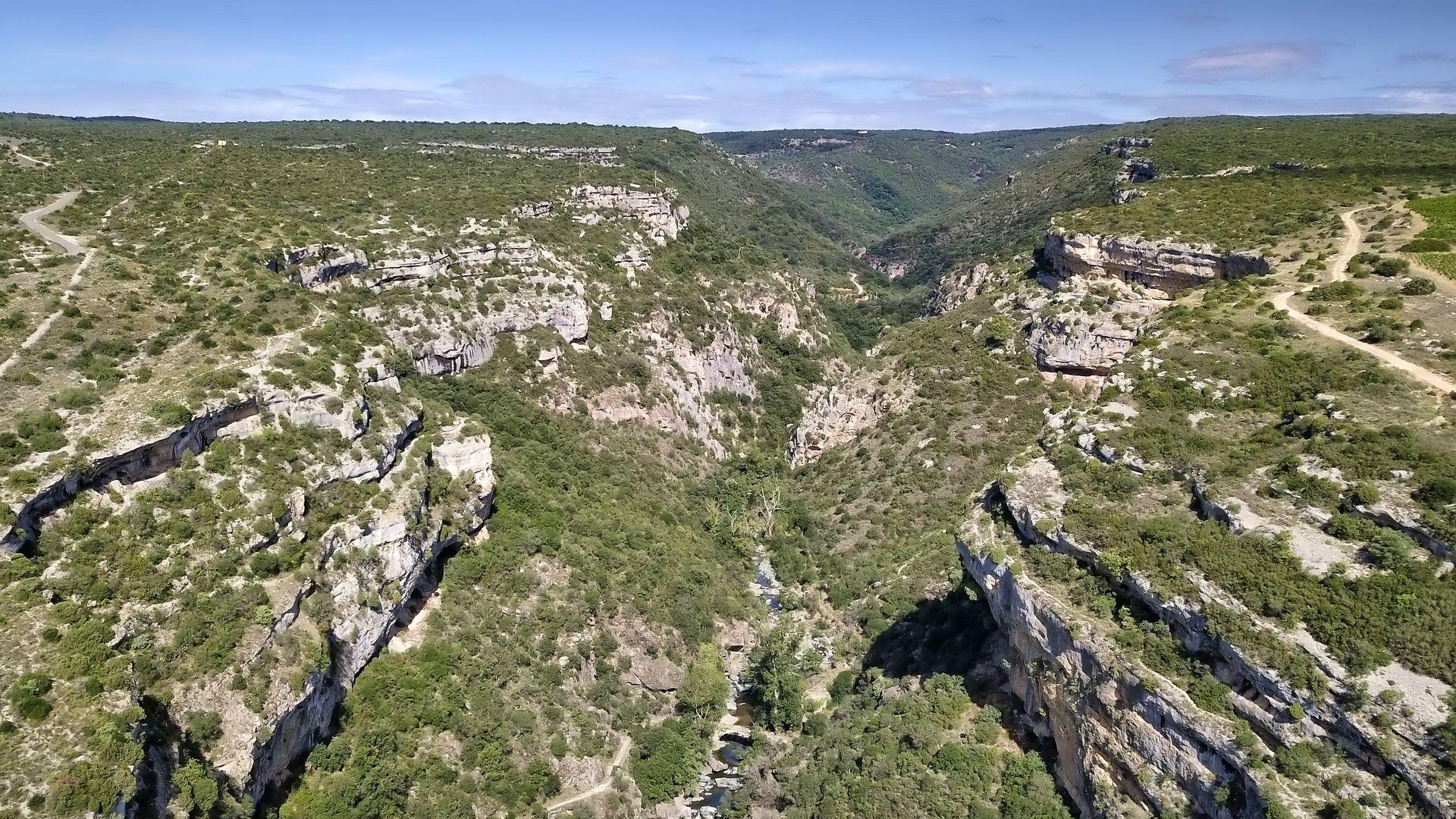 Les Gorges du Briant à Minerve