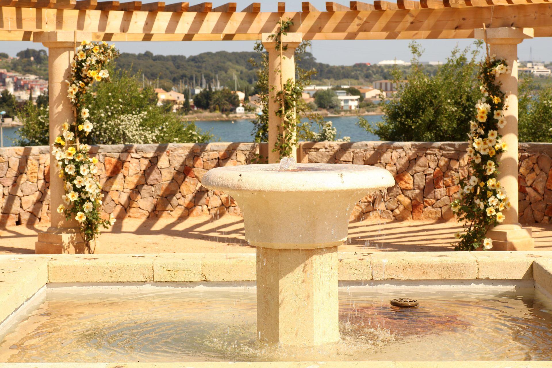 Jardin antique méditerranéen à Balaruc-les-Bains