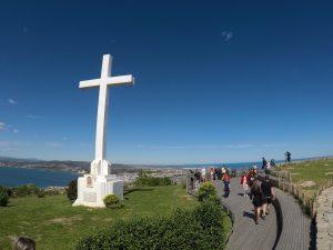 Vue panoramique du haut du Mont Saint Clair à Sète