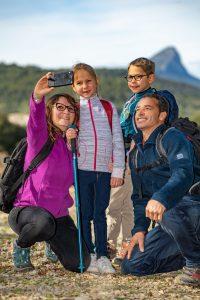 Randonnée en famille au Pic Saint-Loup