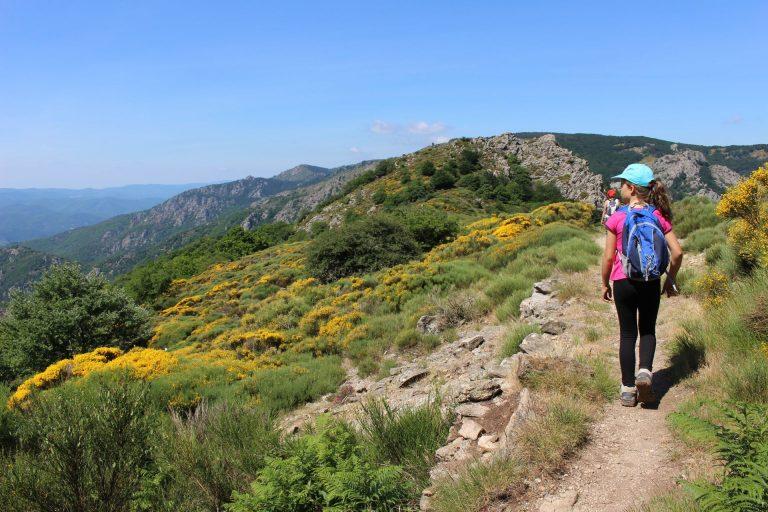 Randonnée en Haut-Languedoc en famille