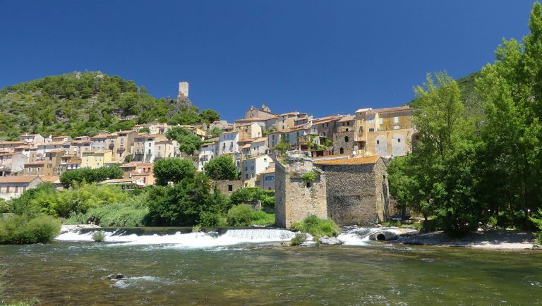 L'orb à Roquebrun