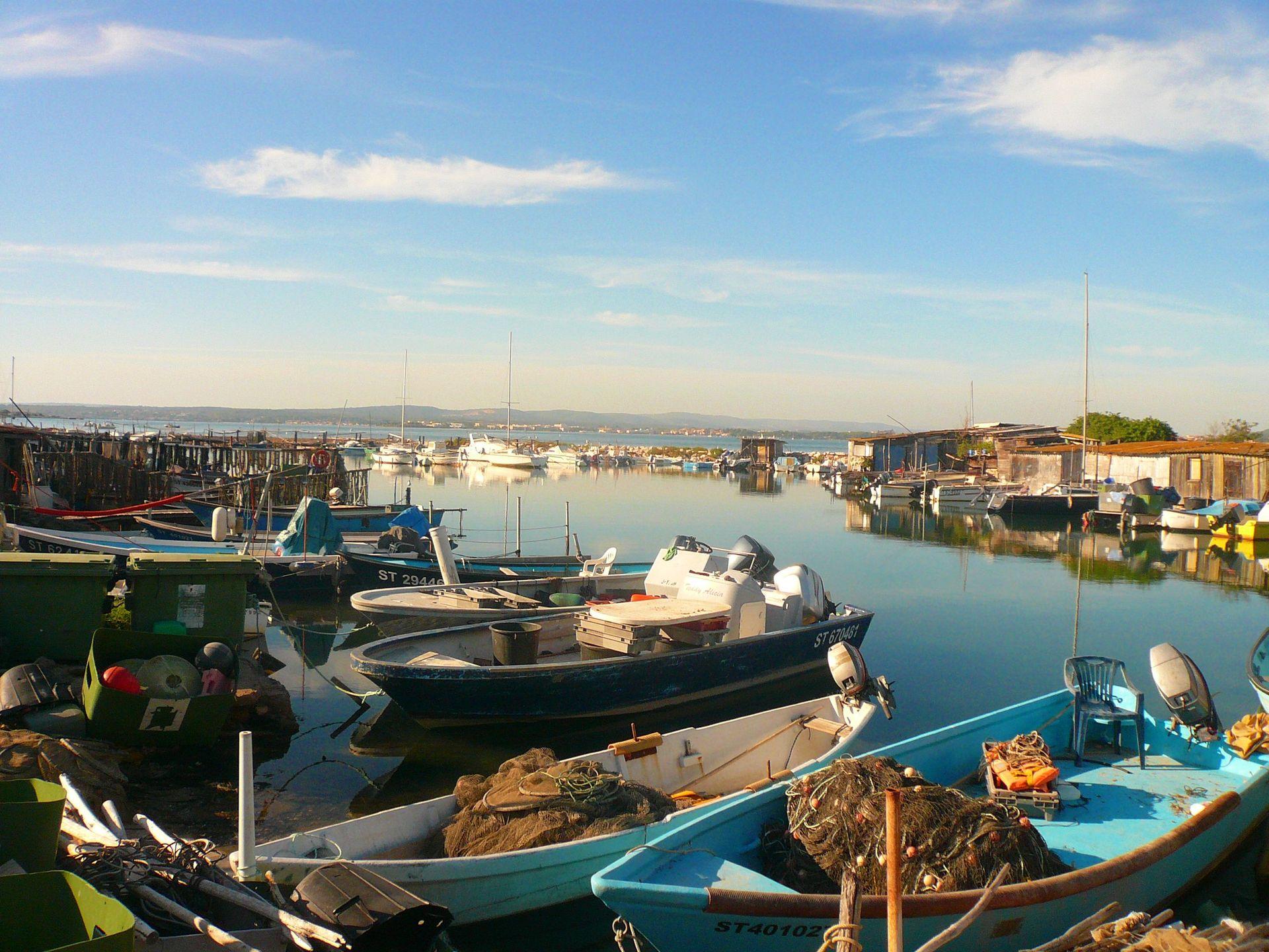 La Pointe Courte, le quartier des pêcheur de Sète