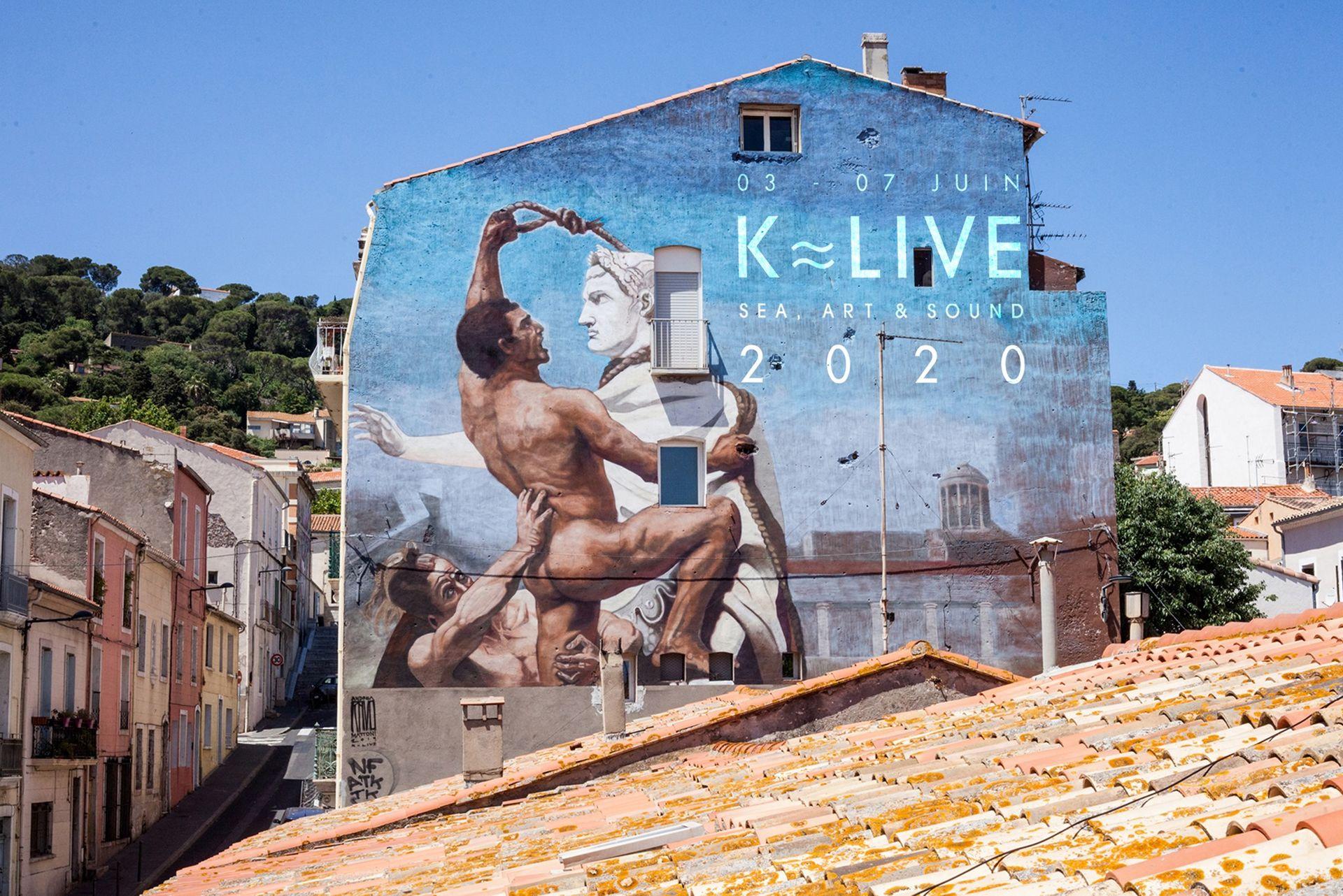 Street art du Quartier Haut à Sète