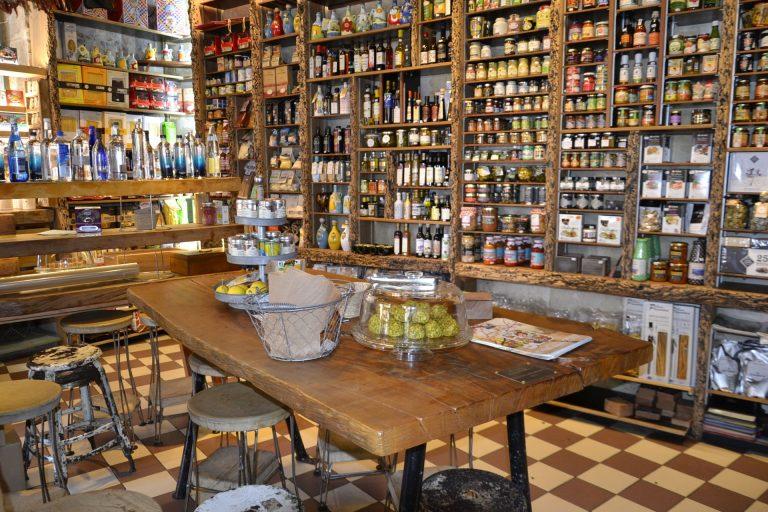 Boutique gourmande à Sète