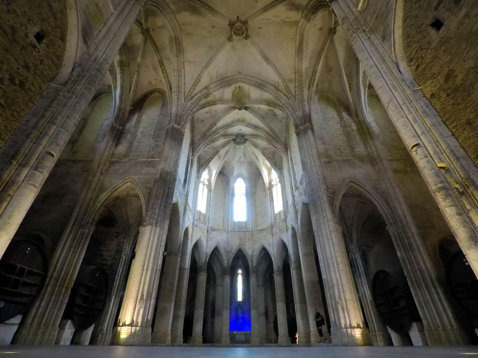 Coeur de l'abbaye de Valmagne