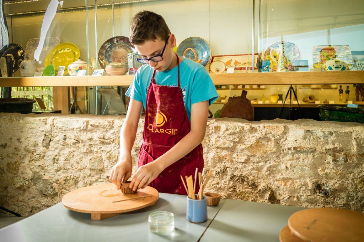Musée et maison de la poterie et de l'argile Argileum Saint Jean de Fos Famille enfant