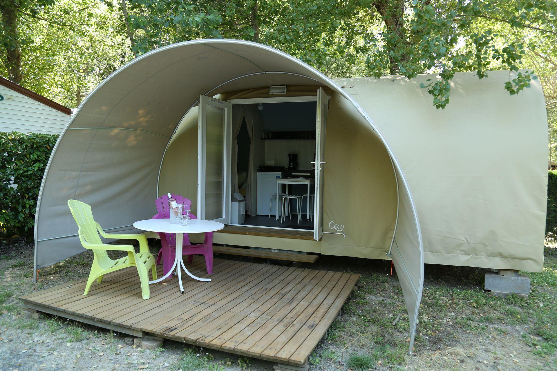 Tente Camping Les Berges du Canal
