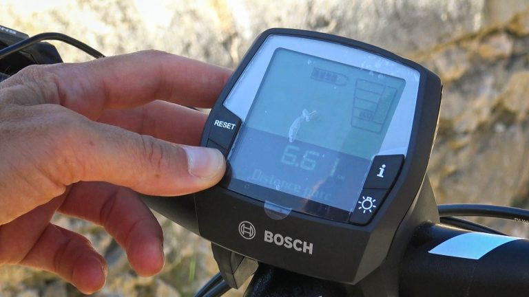 Compteur vélo électrique
