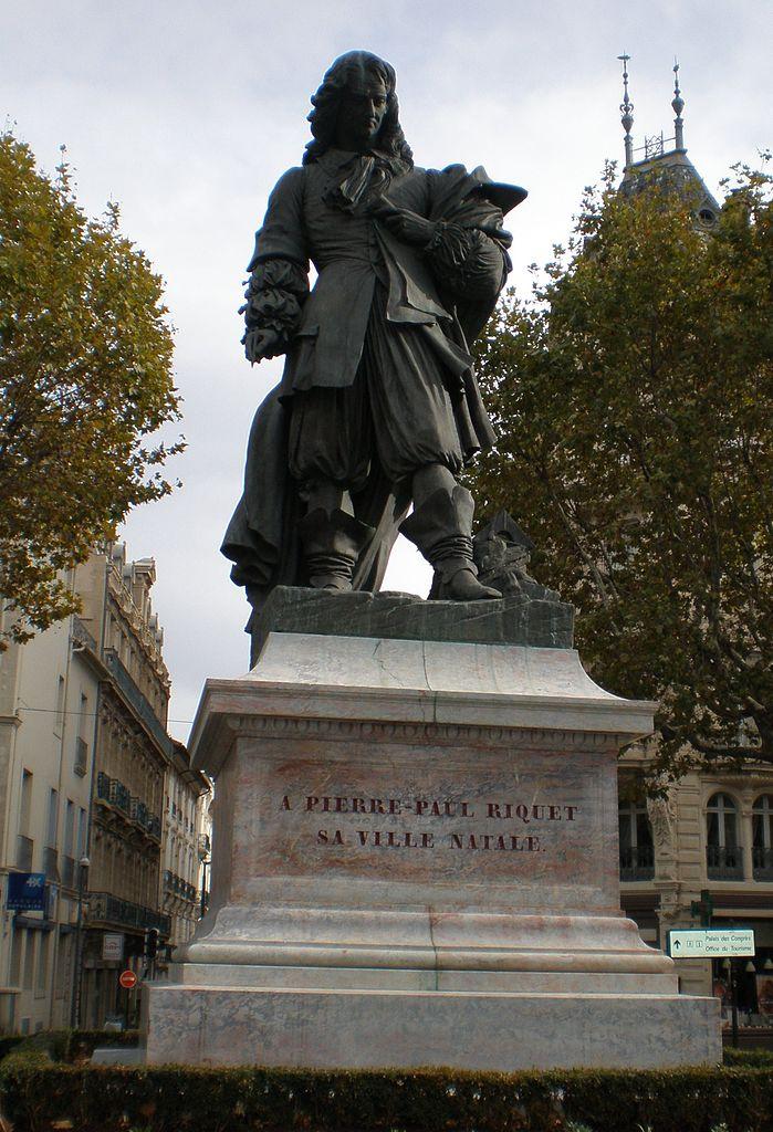 Statue de Riquet à Béziers