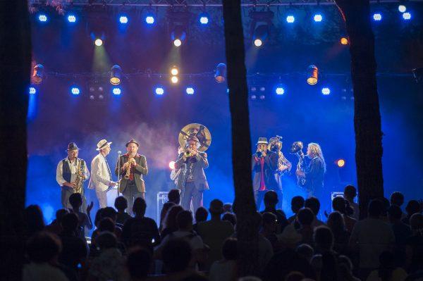 Spectacle du Festival des Nuits d'O au domaine d'O de Montpellier