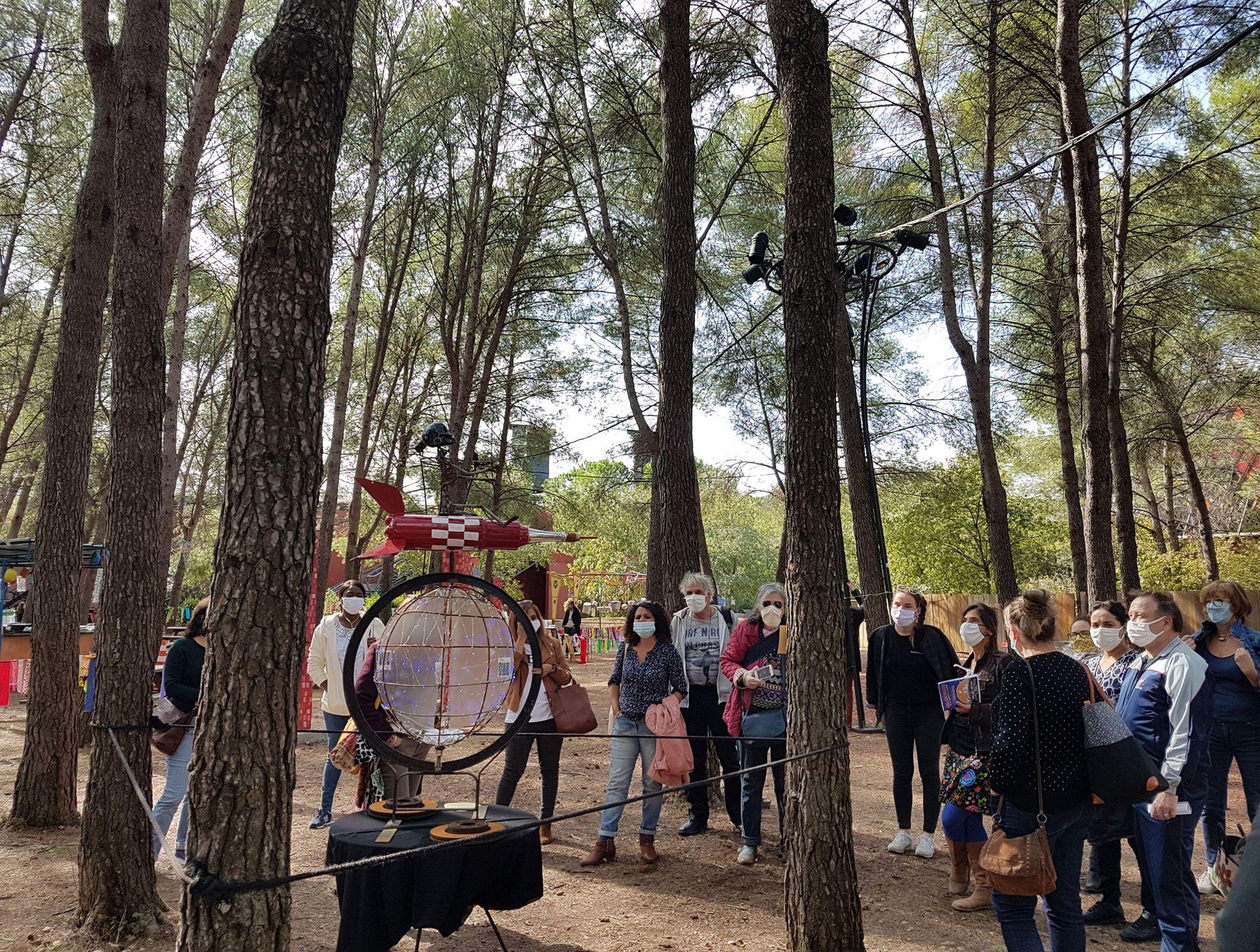 Festival Les Palabrasives pour petits et grands au domaine d'o à montpellier