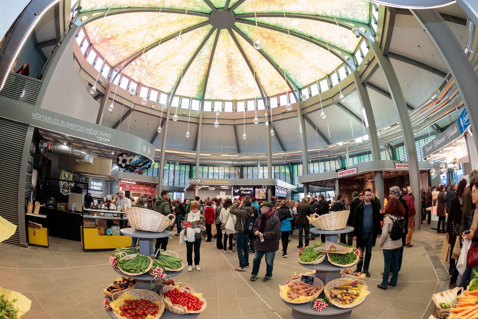 Les Halles Laissac de Montpellier © Ch.Ruiz Montpellier3m