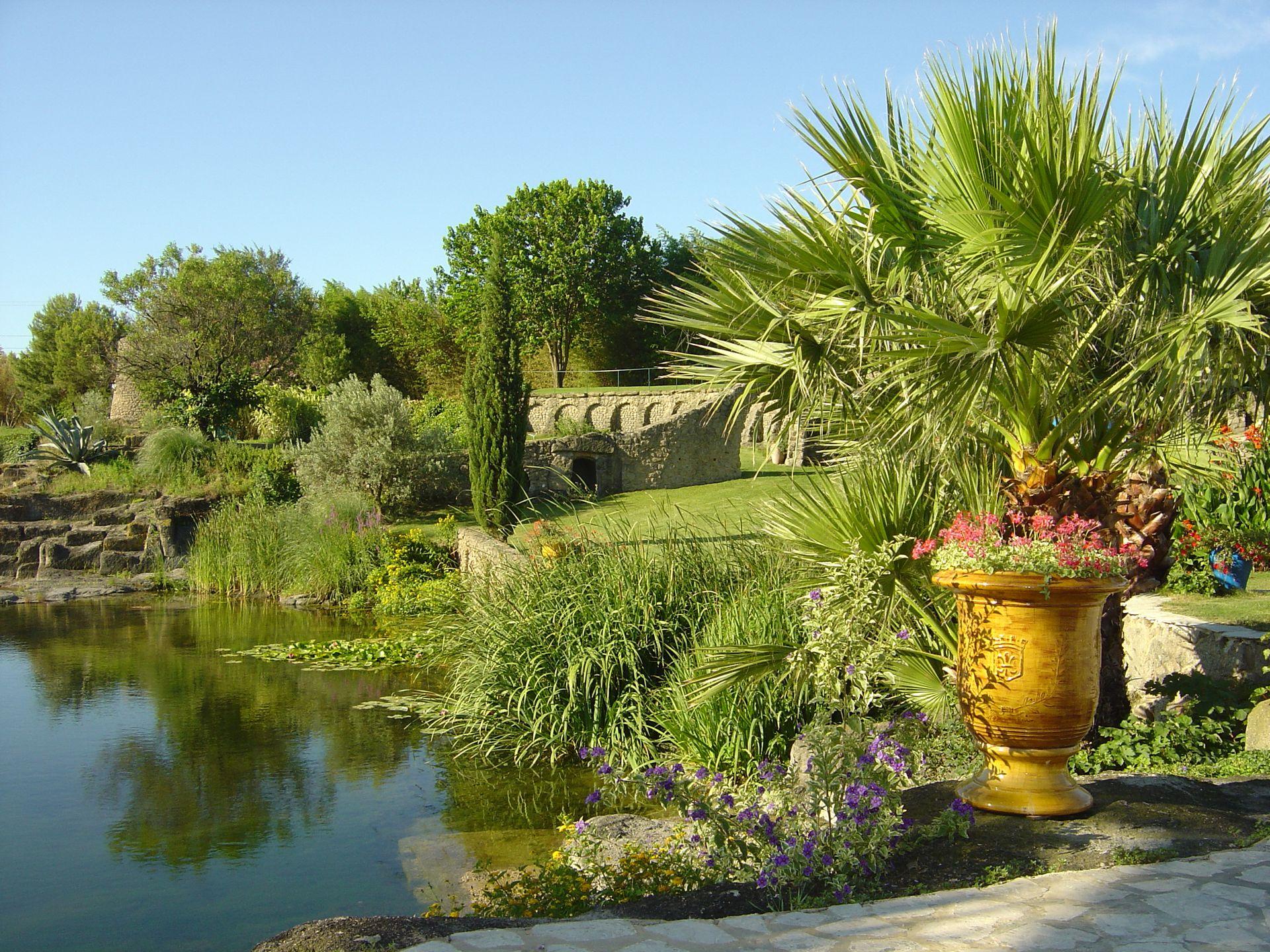 Servian - Jardin de Saint Adrien