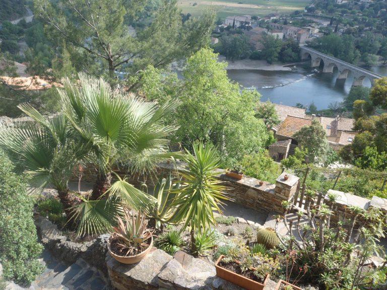 Roquebrun, Jardin Méditerranéen