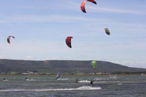 Kitesurf sur l'Etang d'Ingril