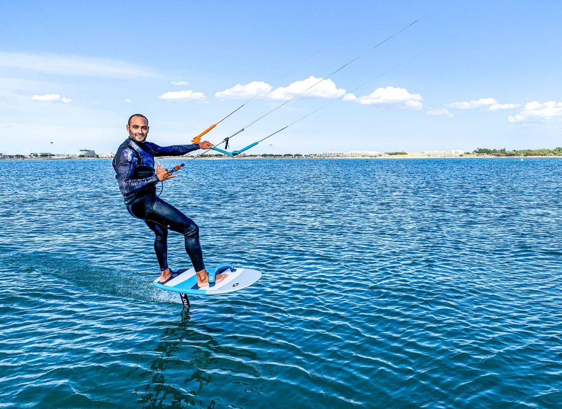 Seb Garat Kitesurfeur pro Ride Academy