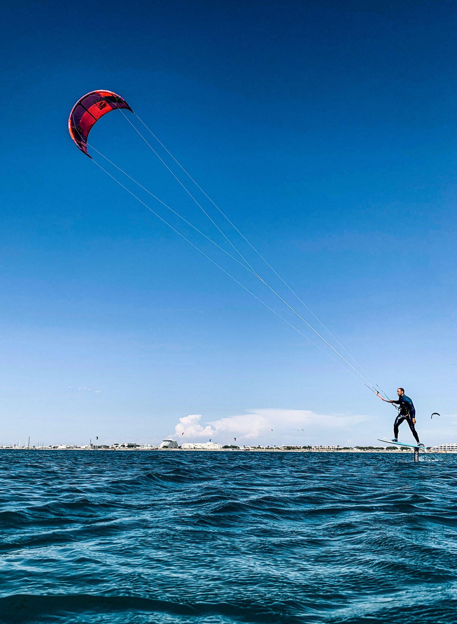 Kitesurf foil Seb Garat - Ride Academy
