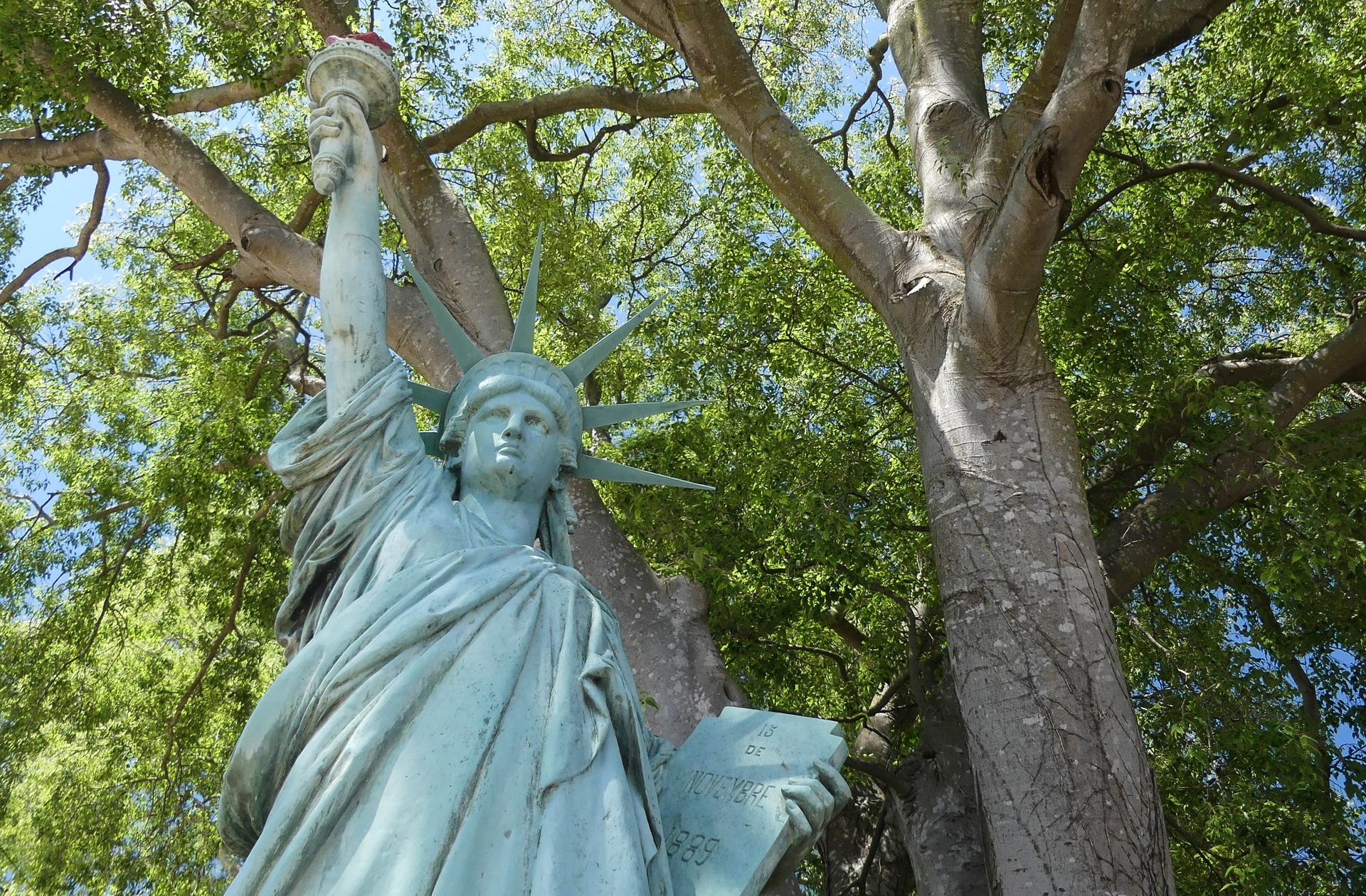Statue de la Liberté de Lugné