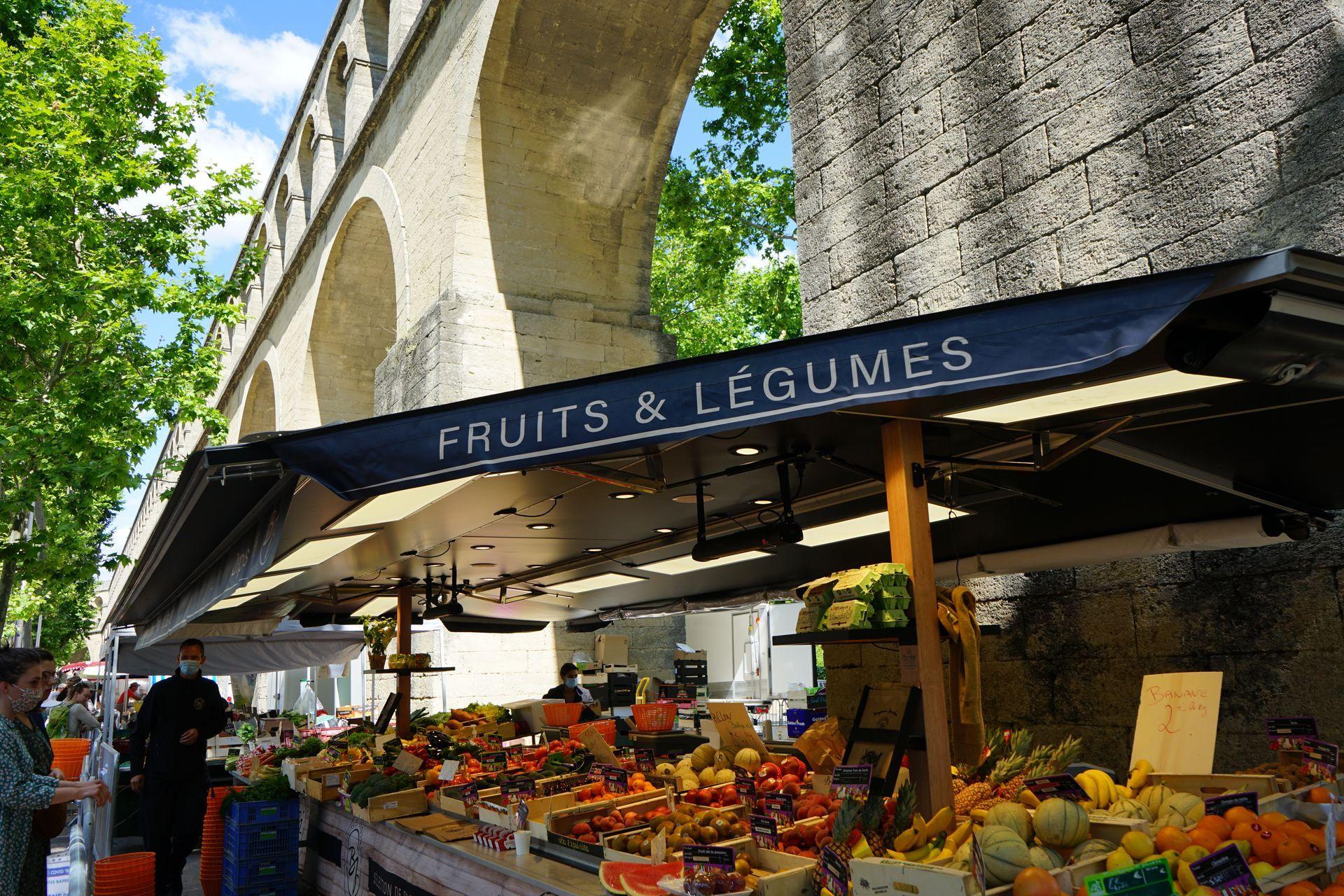 Marché des Arceaux © Montpellier3m