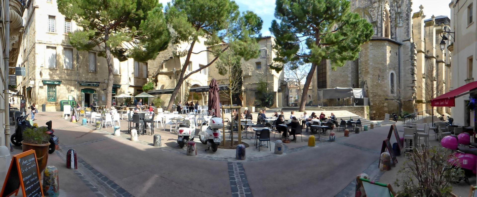 Flâner dans les ruelles de l'Ecusson et le Quartier Saint-Roch à Montpellier ©Eric Brendle